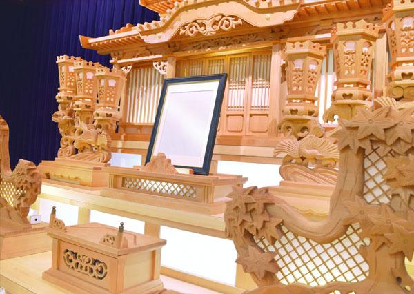 家族葬の和田_祭壇イメージ