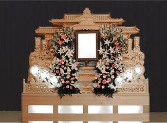 葬儀の和田_仏式祭壇イメージ